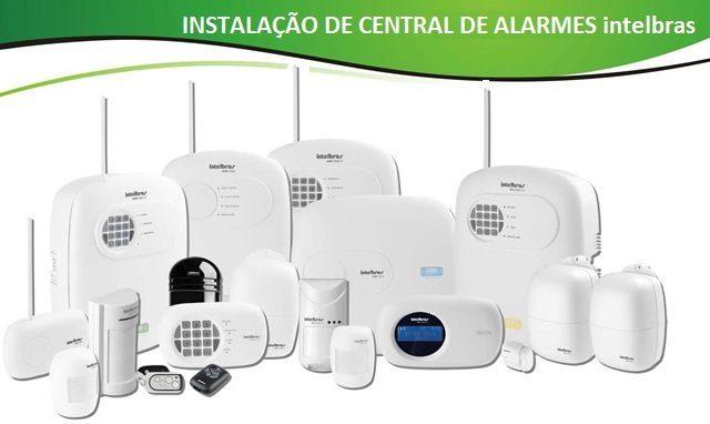 Instalação de Central de Alarmes